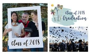 graduation photo announcements 2018 graduation announcements tropical papers