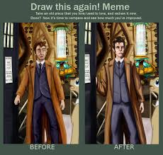 Storm Crow Meme - draw it again meme the doctor by stormcrow 42 on deviantart