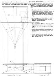 Floor Plan And Perspective Linear Perspective