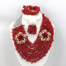 coral beads necklace images 8 rows sky blue coral beads jewelry set nigerian african wedding jpg
