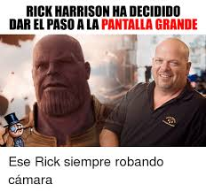 Rick Harrison Meme - hilim rick harrison iwork herewith my son safety and rick harrison