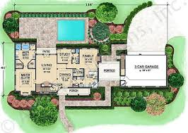 First Floor House Plan Harbour Town European House Plans Luxury House Plans