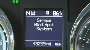Car Blind Spot Detection Blind Spot Detection System Repair Fixed Town And Country Dodge