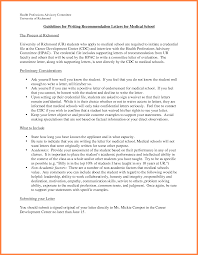 Templates For Letters Of Recommendations by 6 Recommendation Letter For Medical Sample Life