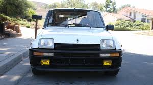 renault usa rare renault r5 turbo 2 in need of a good home