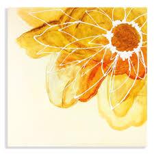 Pantone Yellow by Flower Pantone Yellow Hand Painted Canvas U2013 Dream Lifestyle