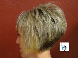 back view of wedge haircut stacked wedge haircut hairstyles ideas