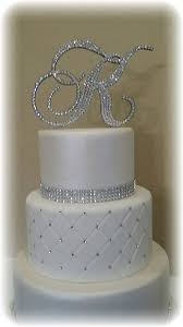 monogram cake toppers for weddings monogram wedding cake topper initial any letter