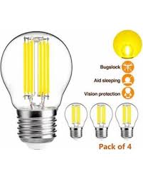 yellow bug light bulbs check out these bargains on hzsane g45 a15 led bulbs 6w led yellow
