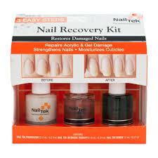 nail tek nail recovery kit for damaged nails base coat