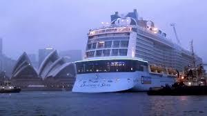sydney harbor cruises ovation of the seas cruise ship new billion dollar cruise