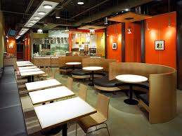 Restaurant Interior Design Food Courts Fast Food Design So - Fast food interior design ideas