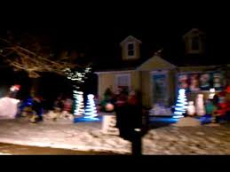christmas lights set to music christmas lights set to music eau claire wi youtube