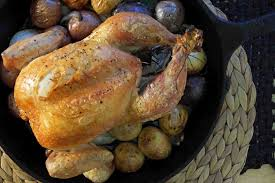 Roast Whole Chicken Roast Chicken With Apple Cider Pan Sauce Strawberryplum