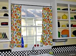 kitchen curtain ideas diy fantastic diy kitchen curtains top design source