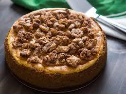 Gingersnap Pumpkin Cheesecake by 21 Smashing Pumpkin Recipes To Try Tonight Tonight Serious Eats