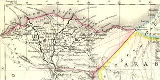 Memphis Map Landkarte Von Nordägypten Zwischen Dem Nildelta Und Memphis Im