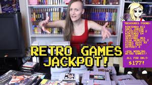 retro game pickups jackpot waifu u0027s game room youtube