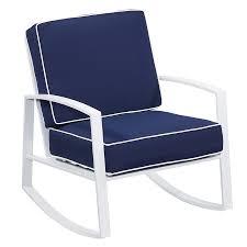 Outdoor Rocking Chair 7 U2013 Patio Enchanting White Patio Chairs Outside Folding Chairs White