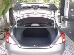 nissan micra luggage space the diesel caaaaar my nissan sunny xl team bhp
