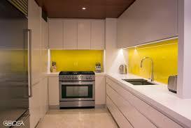 Polyurethane Kitchen Cabinets A Clean Kitchen Design