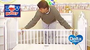 delta convertible crib instructions delta luv crib youtube