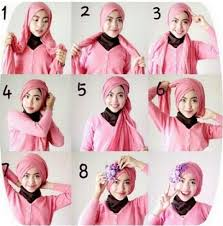 tutorial jilbab segi 4 untuk kebaya 38 model tutorial hijab segi empat modis simple 2018 infosicantik