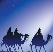 religious christmas blank cards nativity we three kings the