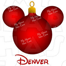 ornament mickey mouse ears instant digital