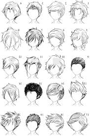 list of boys hairstyles boys hairstyle names with images best 20 anime hairstyles male