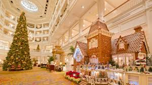 When Is Disney Decorated For Christmas Fantastical Gingerbread Displays Decorate The Walt Disney World
