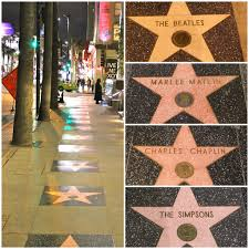 Hollywood Walk Of Fame Map Walk Of Fame On Hollywood Blvd Hollywood California Flickr