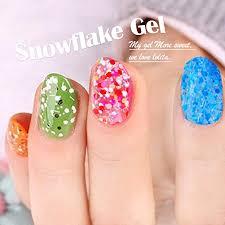 buy perfect summer 8ml snowflake uv gel nail polish soak off gel