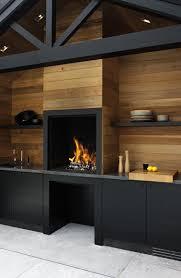 cuisine ext駻ieure design cuisine exterieure design en bois et meubles noir construite sur