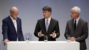 bmw ceo diesel emissions scandal spiegel reports that volkswagen daimler