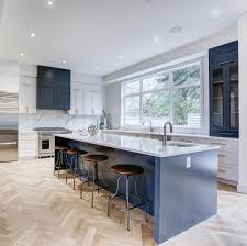what color floor with blue cabinets navy blue kitchen cabinets paint colors gathering home