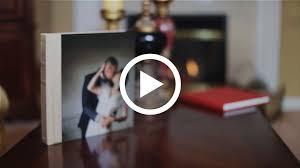 acrylic wedding album photo album with photo panel cover fizara