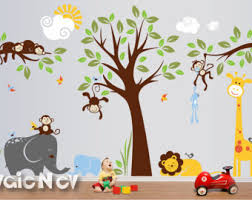 Nursery Wall Decals Canada Nursery Wall Decal Etsy