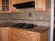 Glass Tile With Baltic Brown Granite Modern Mosaic Backsplash - Brown tile backsplash