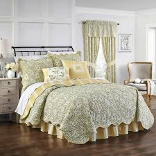 waverly paisley verveine 4 piece quilt set free shipping today