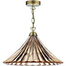 Glass Ceiling Pendant Light Ard866 Ardeche Traditional Ceiling Pendant