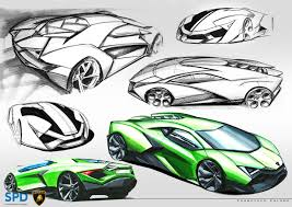lamborghini logo sketch lamborghini igreca on behance