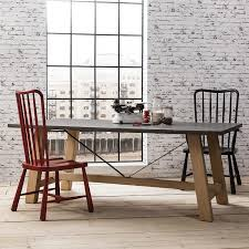 large trestle dining table chilson large trestle dining table by hudson living anthea s home