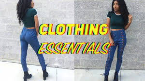 build a wardrobe on a budget fashion essentials every 10 clothing essentials how to build your wardrobe on a budget youtube
