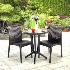 Patio Furniture Bistro Set 2 Seater Garden Furniture Rattan 2 Day Bed Brown Porto 2 Seater