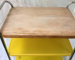 Cutting Board Kitchen Island Vintage Butcher Block Island Etsy