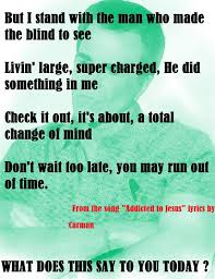 Blind To You Lyrics Carman Licciardello Home Facebook