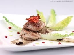 cuisiner le ris de veau ris de veau croustillant pissalat d anchois recette de cuisine