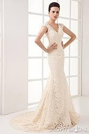 beige wedding dress chagne wedding dresses lace chagne wedding gown snowybridal