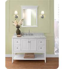 fairmont designs bathroom vanities fairmont designs 1512 vh48 shaker americana 48 open shelf vanity in